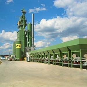 Statie de asfalt Benninghoven BA240U - an 2005 - localizata in Chiajna pe centura Bucuresti