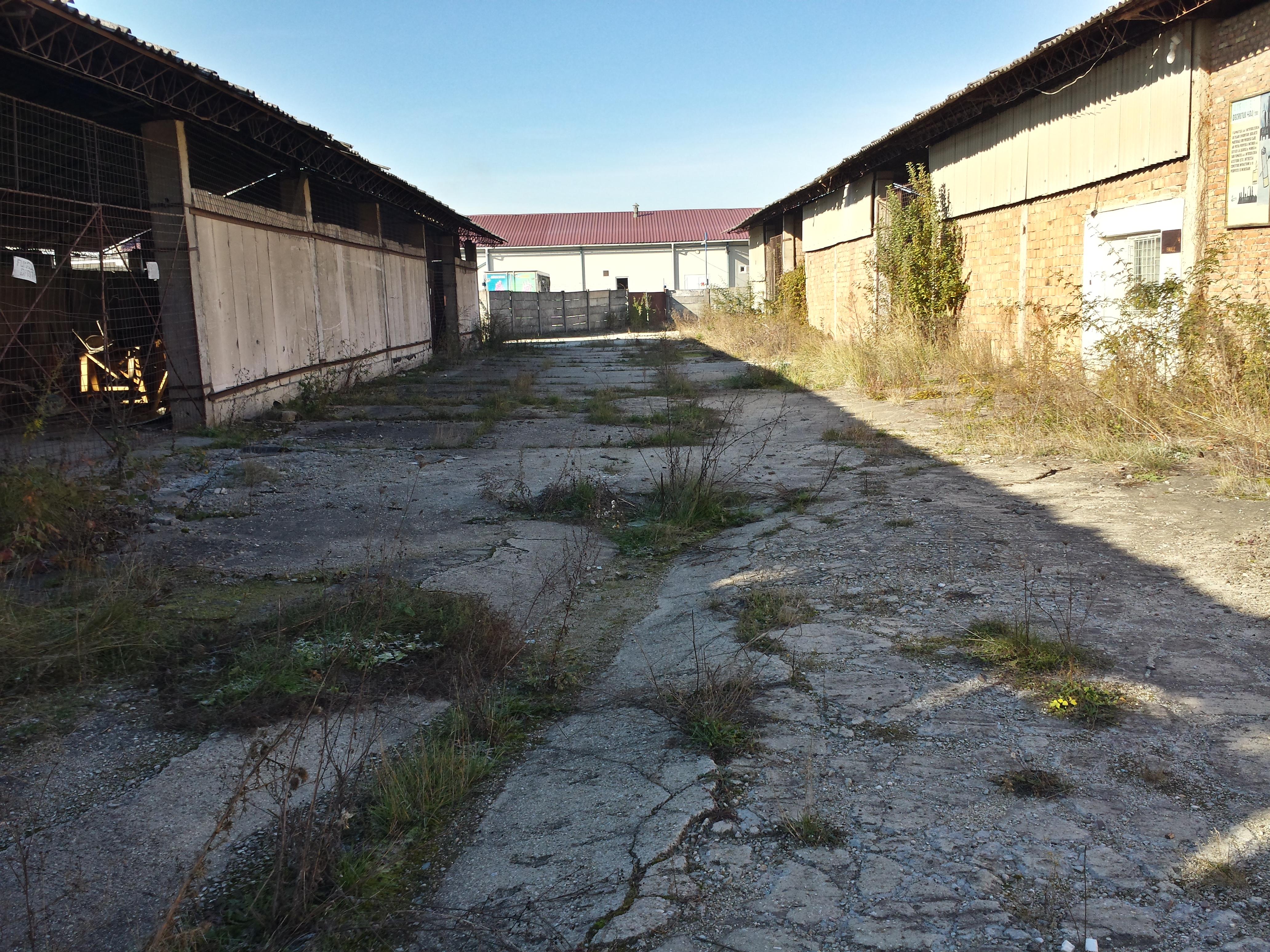 Amplasament Industrial - Crișeni - teren în suprafață de 16.146 mp cu construcțiile aferente
