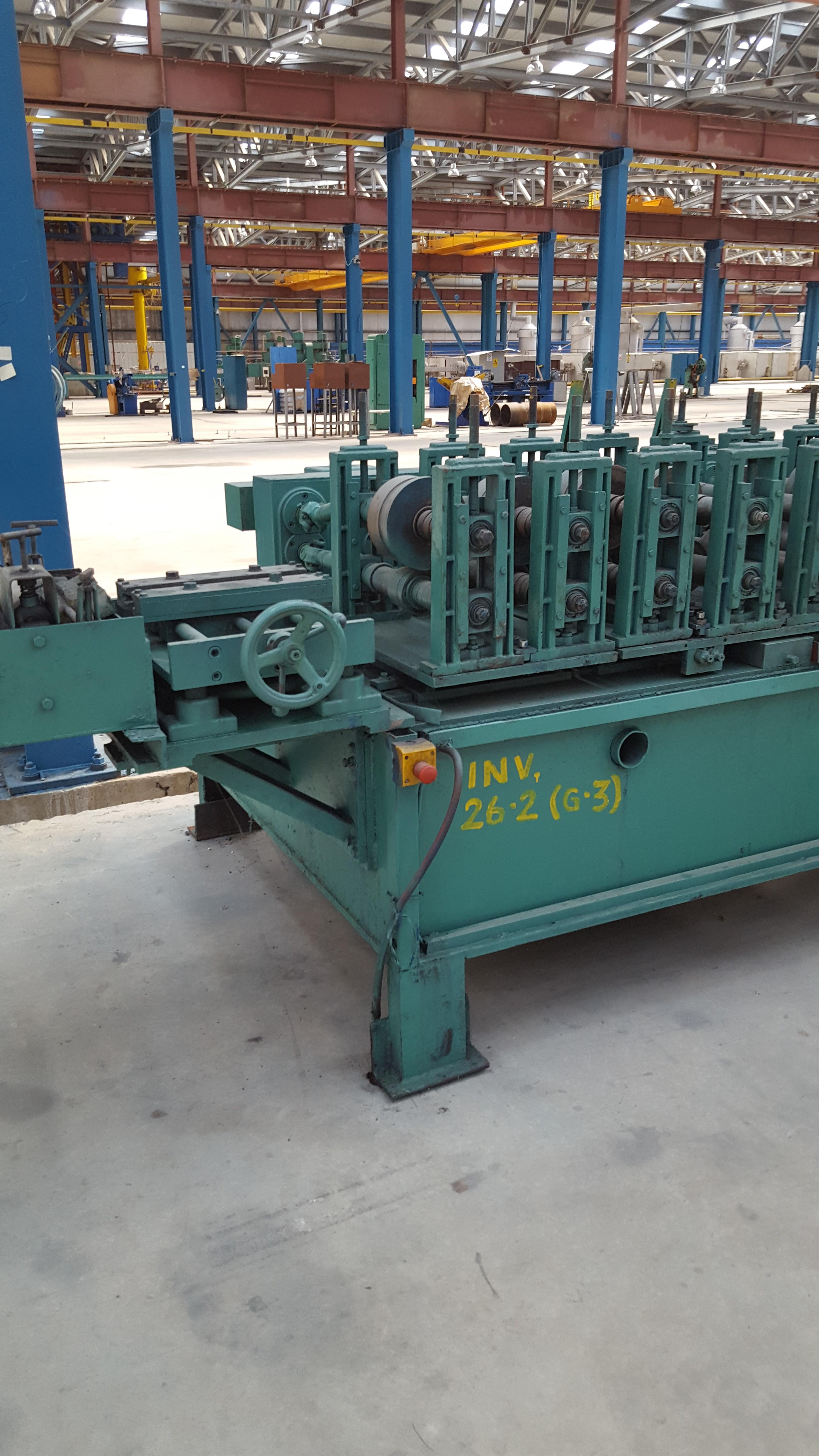 Maşină profile de armatură tip 120 V + Convector frecvenţă 15kw + Motoreductor tip PD 1010 + Convertizor frecvenţă 15kw