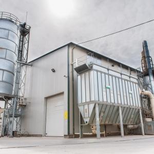 Fabrică pentru producţia micro-bricheţilor din lemn, situata în  Com. Campulung la Tisa, nr. 631, județul Maramureș