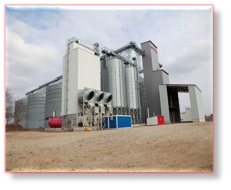 Ansamblu silozuri depozitare cereale și teren aferent în suprafață de 60.890 mp, situat în Carani, jud. Timiș