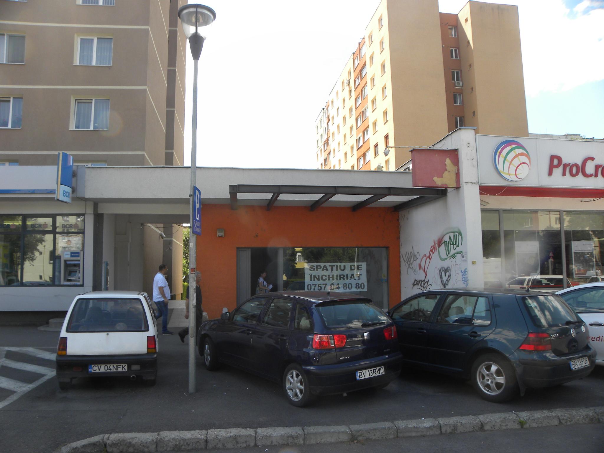 Spațiu comercial  cu Su. 151,62 mp , Calea Bucuresti, nr 90 Brașov, jud. Brașov