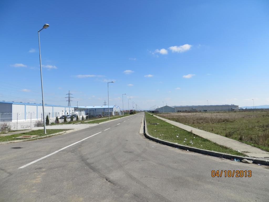 Teren extravilan 50.000 mp Parc industrial