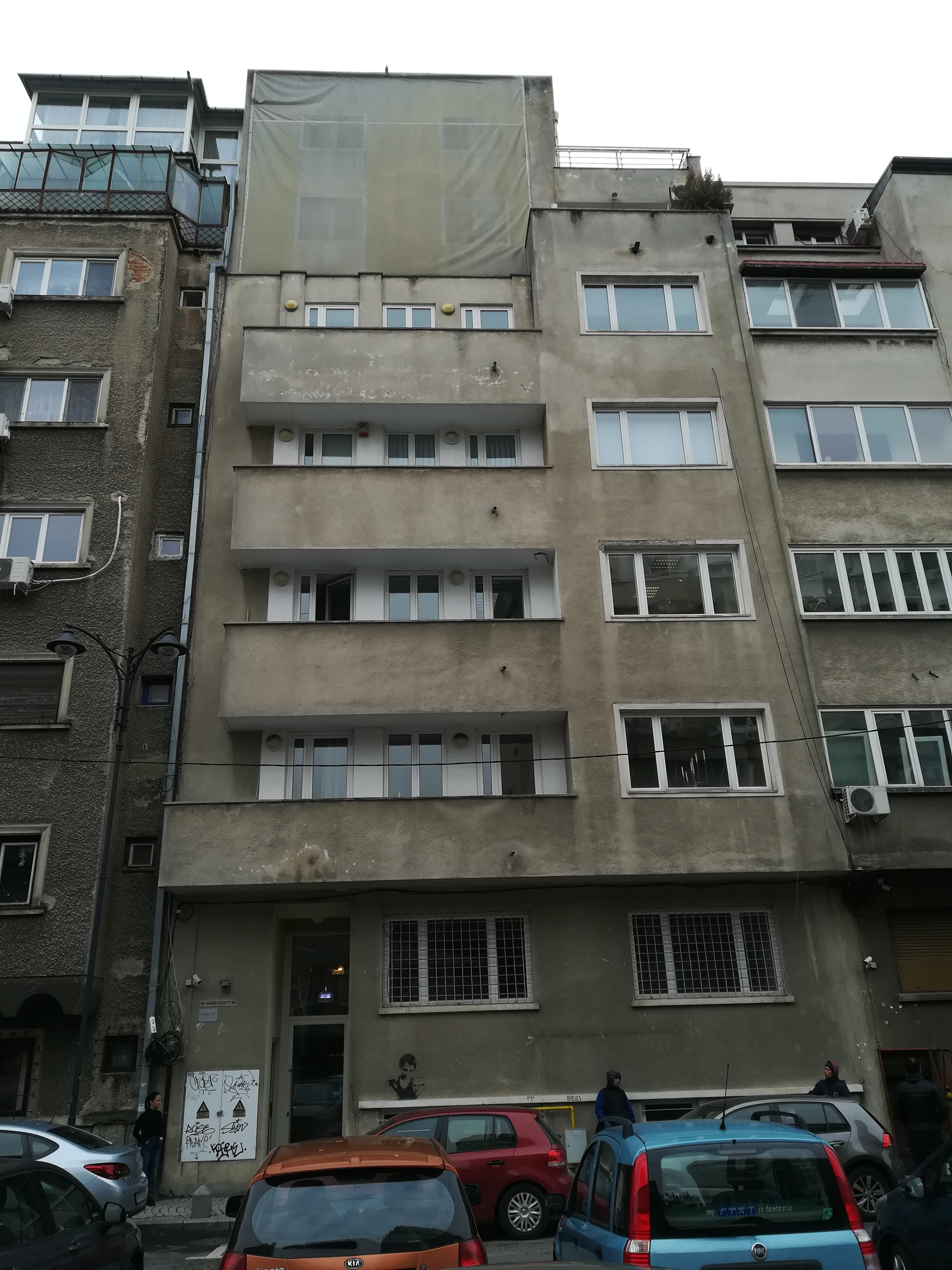 Imobil situat în București, str. Maria Rosetti nr. 8A