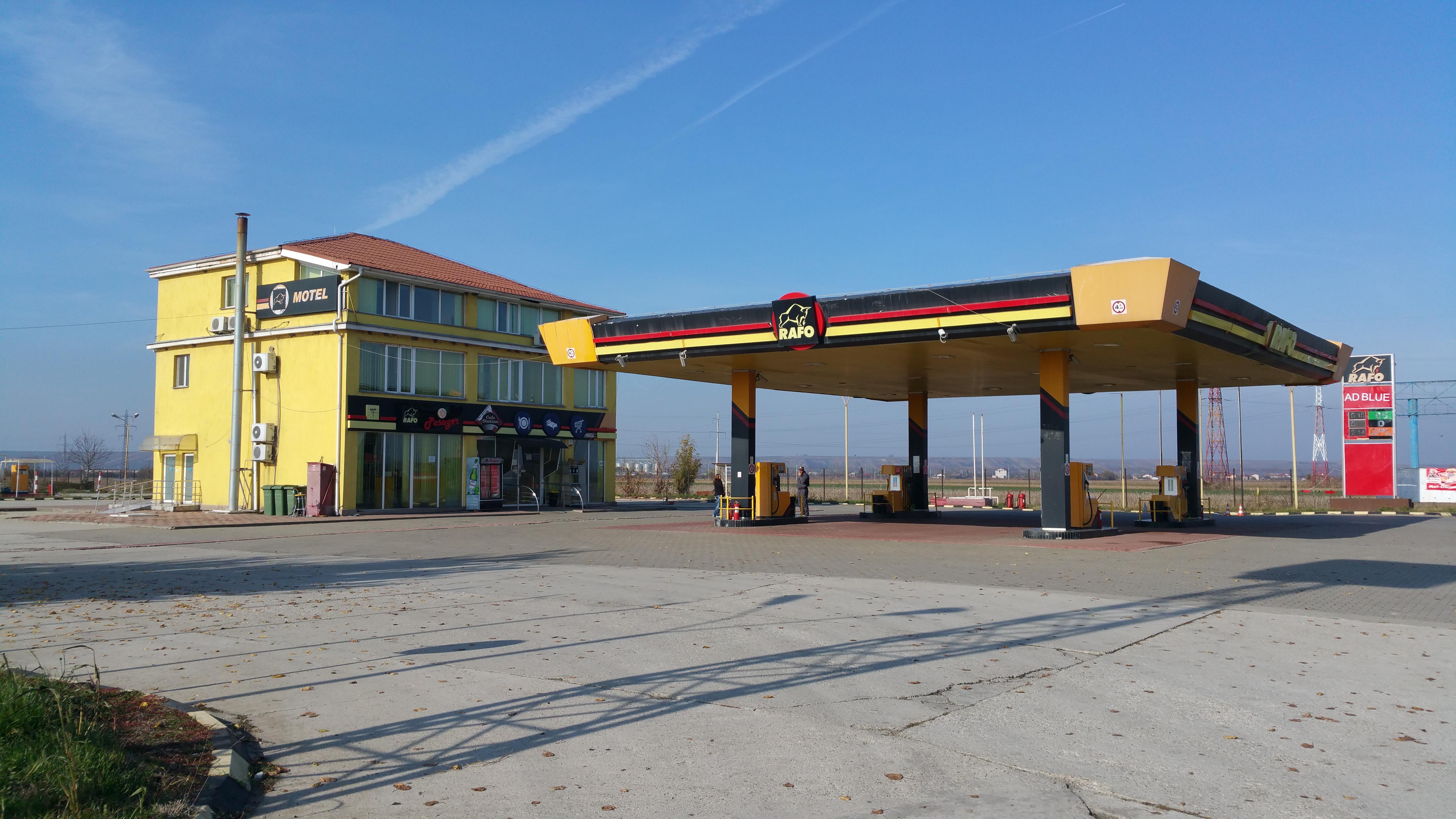 Stație distribuție carburanți sat Remus, com.Frățești DN5 km.5+705, jud.Giurgiu