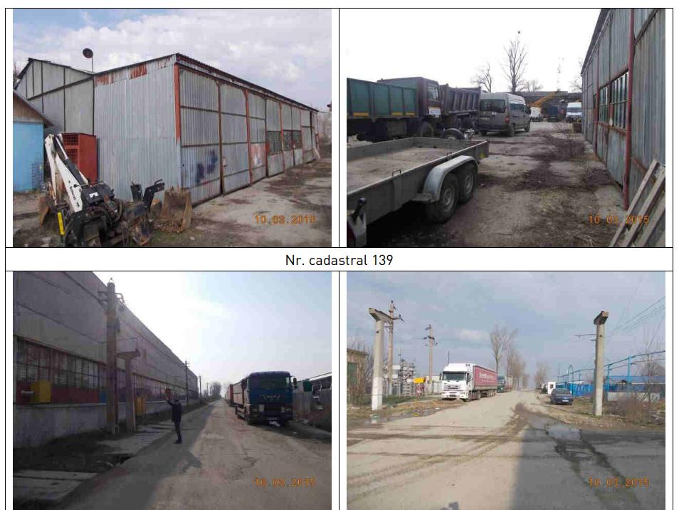Amplasament industrial Slobozia (construcții 1.413,75 mp. teren în concesiune 13.293,09 mp. CAD 139)