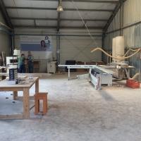 Atelier tâmplărie lemn, corp administrativ, centrală, șopron și echipamentele de producție aferente (Sere Micro 16, terenul nu este proprietate Vega 93, construcții neintabulate)