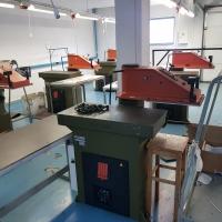 Echipamente tehnologice pentru confectionare incaltaminte, mobilier, autoturism Land Rover