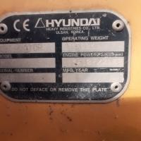 EXCAVATOR SERIE HYUNDAI ROBEX 210 SERIA N60110352