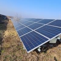 Sistem Panouri Fotovoltaice amplasat la Fabrica de Compost de tip Champignon in localitatea Axintele, jud. Ialomita