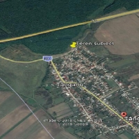 Teren extravilan, situat în sat Tânganu, comuna Cernica, jud. Ilfov