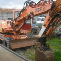 Excavator pe pneuri Liebherr A308 - serie de identificare 3740489