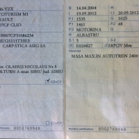AUTOTURISM RENAUL CLIO, SB 06 YZX