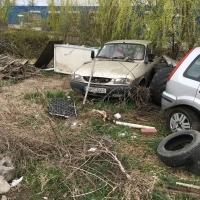 Autoutilitara Dacia Pick Up numar de inmatriculare TM 20 BAL