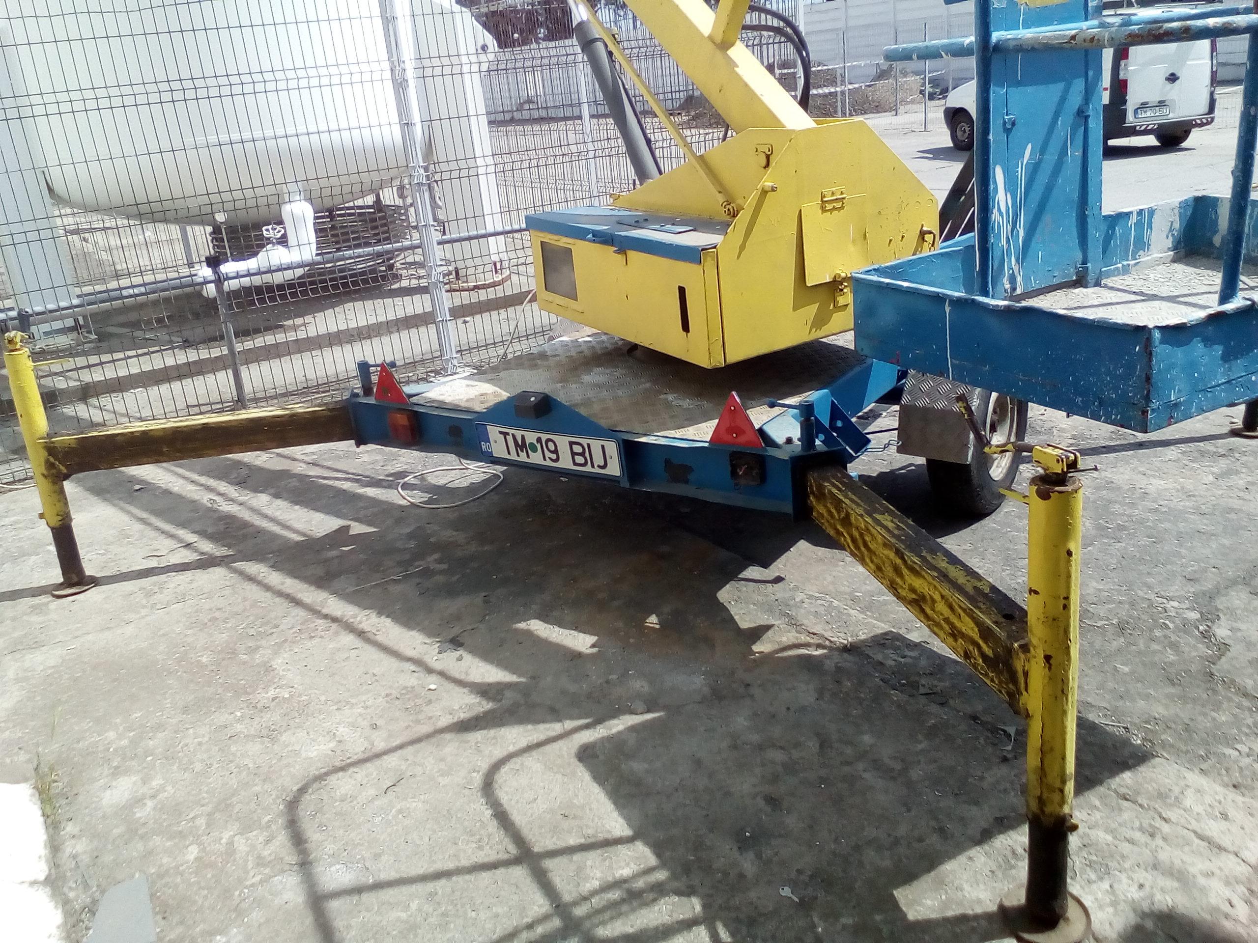 MASINA MACARA PRB OHMME 12000FR nr. inmatriculare TM-19-BIJ