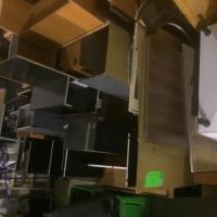 Pachet MOBILIER 1 - birouri, dulapuri, casetiere, cuiere, masute etc