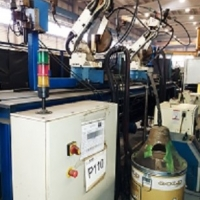 ROBOT SUDURA 6AXE AV V6 SINAU MACHINE