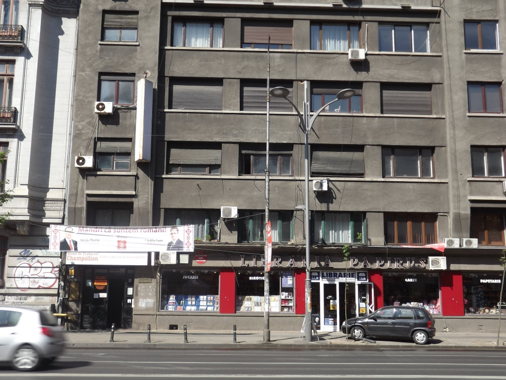 Spatiu de birouri 1.062 mp dispus pe 2 etaje (1 si 2) - Bulevardul Magheru nr. 27, sector 1 Bucuresti