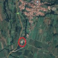 Complex zootehnic  compus din teren în suprafață de 17.928 m.p., grajduri porci, magazie și birouri, situat în Domașnea, jud. Caraș-Severin