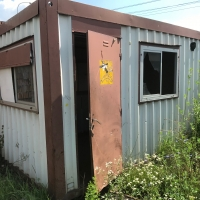 Container birou 4*2.4*2.5 second hand
